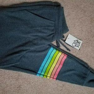Chaser Sweatpants RainbowJoggers BNWT Size XS